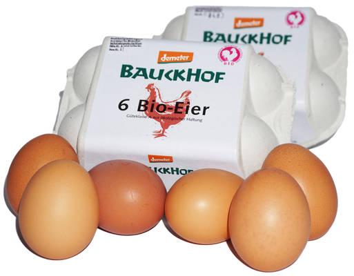 Bauckhof-Ei BID 12er Produktbild