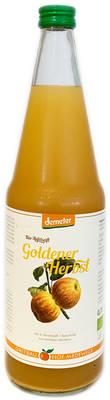"Apfelsaft ""Goldener Herbst"" Produktbild"