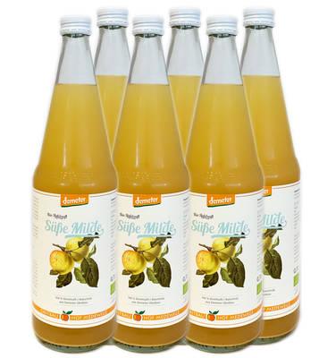 """Apfelsaft """"Süße Milde"""" 6er Produktbild"""
