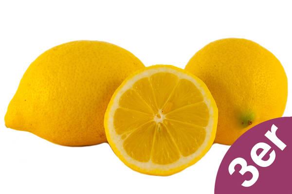 Zitronen 3er Produktbild