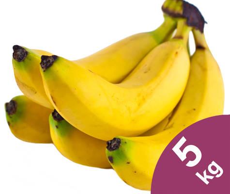 Bananen 5kg Produktbild