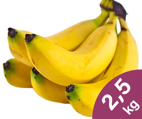 Bananen 2,5kg Produktbild