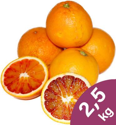 """Orangen """"Tarocco"""" 2,5kg Produktbild"""