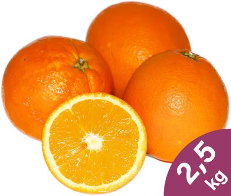 Orangen 2,5kg Produktbild