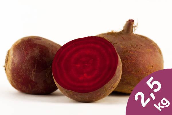 Rote Bete 2,5kg Produktbild