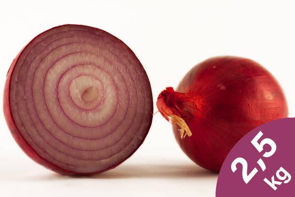 Zwiebeln rot 2,5kg Produktbild