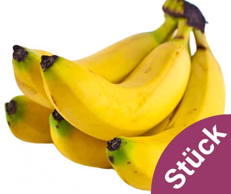 Stück Bananen Produktbild