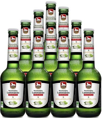 Lammsbräu Alkoholfrei & Hollerblüte 10er Produktbild