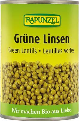 Grüne Linsen Produktbild