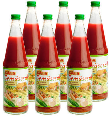 Tomate-Gemüsesaft 6er Produktbild