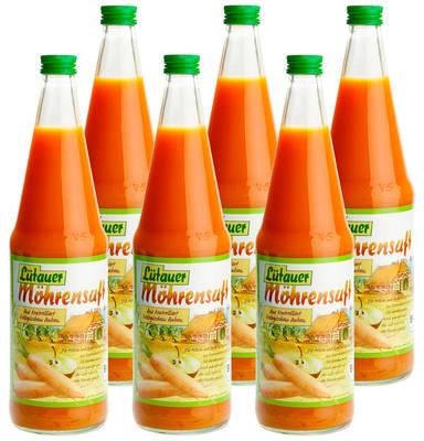Möhren-Apfelsaft 6er Produktbild