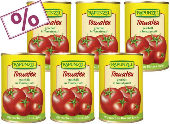 Tomaten geschält 400g 6er Produktbild