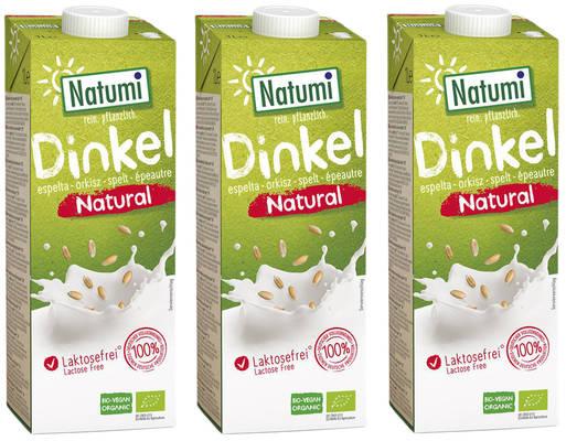 Dinkeldrink Natural 3er Produktbild