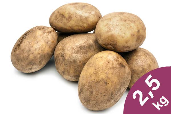 Kartoffeln Linda 2,5kg Produktbild