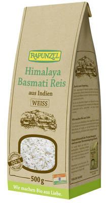 Himalaya Basmati Reis weiß 500g Produktbild
