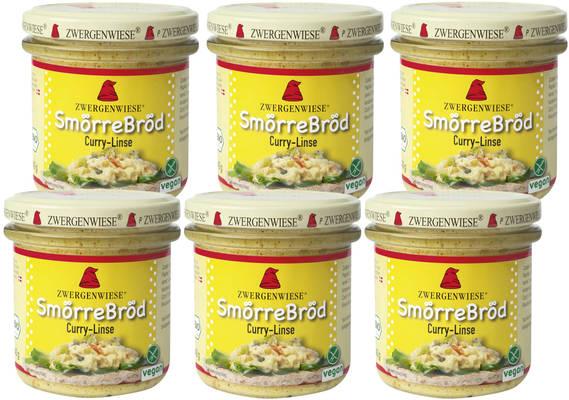 SmörreBröd Curry-Linse 6er Produktbild