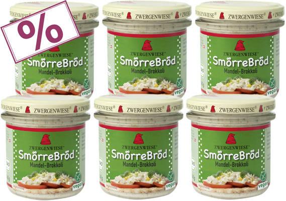 SmörreBröd Mandel-Brokkoli 6er Produktbild