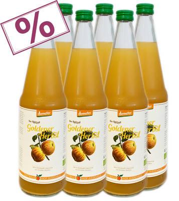 """Apfelsaft """"Goldener Herbst"""" 6er Produktbild"""