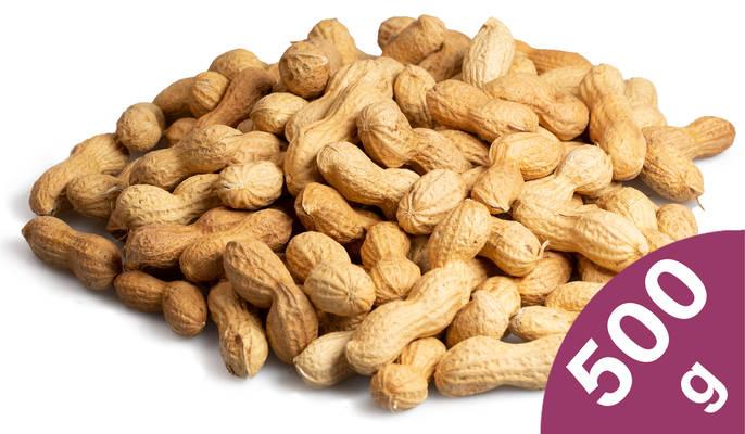 Erdnüsse 500g Produktbild