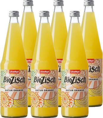 BioZisch Natur-Orange 6er Produktbild