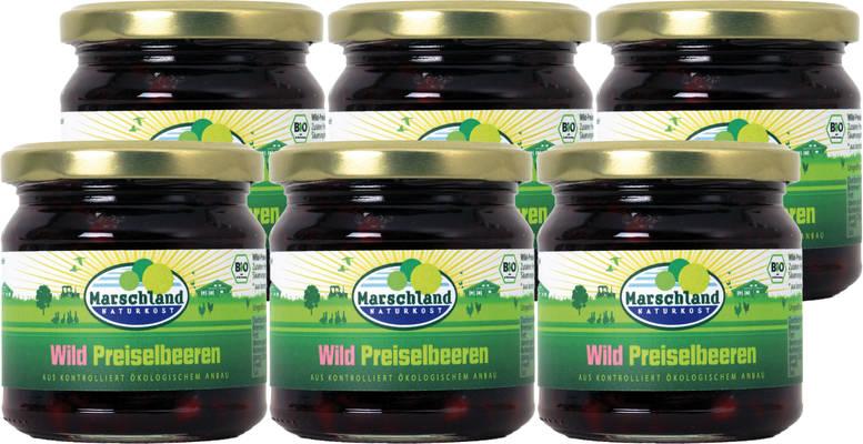 Wildpreiselbeeren 6er Produktbild