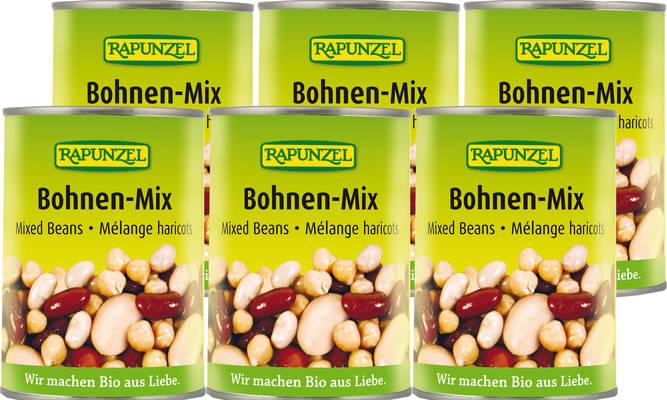 Bohnen-Mix 6er Produktbild