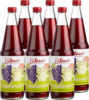 Traubensaft rot 6er Produktbild