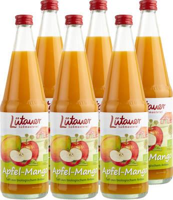 Apfel-Mangosaft 6er Produktbild