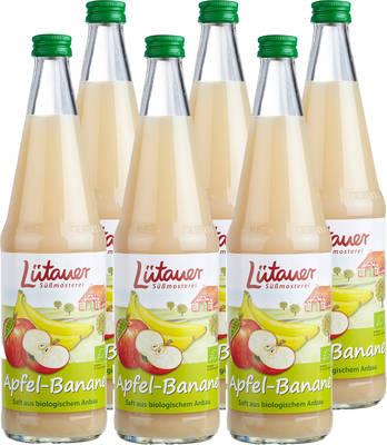 Apfel-Bananensaft 6er Produktbild
