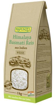 Himalaya Basmati Reis weiß 1kg Produktbild