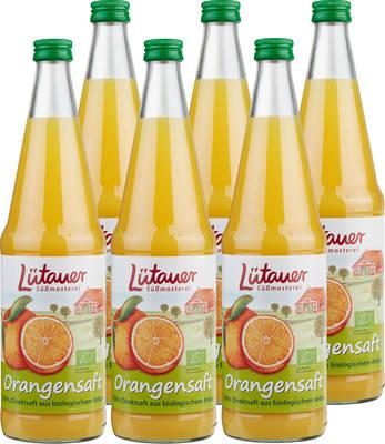 Orangensaft Bio 6er Produktbild
