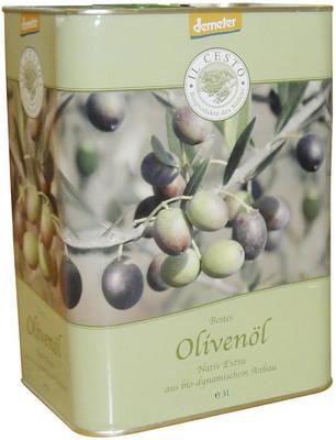Demeter Olivenöl nativ extra 3l Produktbild
