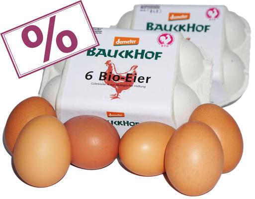 Bauckhof-Eier 'BID' 12er Produktbild