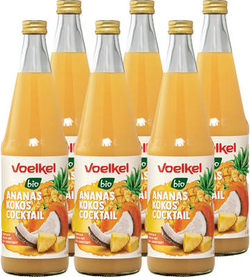 Ananas Kokos Cocktail 6er Produktbild