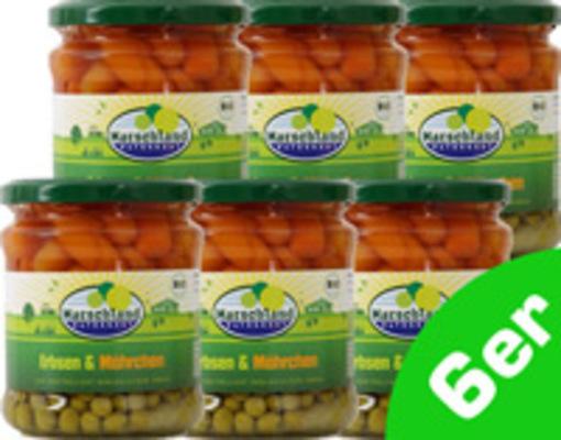 Erbsen & Karotten 6er Produktbild