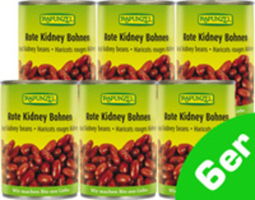 Rote Kidney Bohnen 6er Produktbild