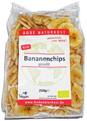 Bananenchips gesüßt Produktbild