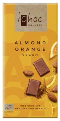 Almond Orange - Rice Choc - Schokolade Produktbild