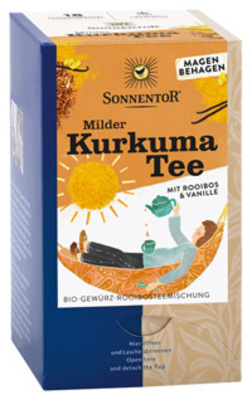 Milder Kurkuma Tee Produktbild