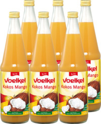 Kokos Mango Saft 6er Produktbild
