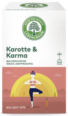 Karotte & Karma Tee Produktbild