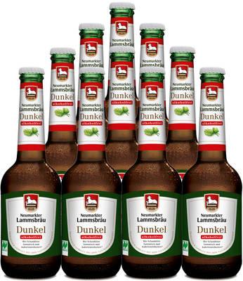 Lammsbräu Dunkel Alkoholfrei 10er Produktbild