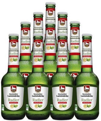 Lammsbräu Radler Alkoholfrei 10er Produktbild