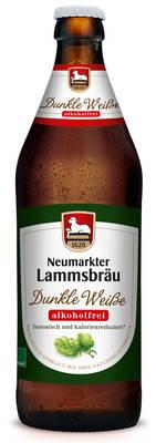 Lammsbräu Dunkle Weiße Alkoholfrei Produktbild