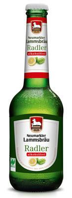 Lammsbräu NaturRadler Alkoholfrei Produktbild