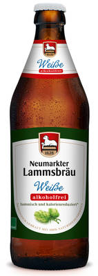 Lammsbräu Weiße Alkoholfrei Produktbild