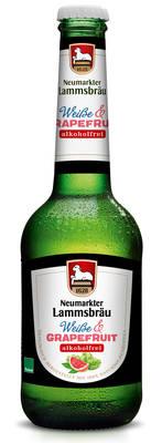 Lammsbräu Weiße Grapefruit Alkoholfrei Produktbild